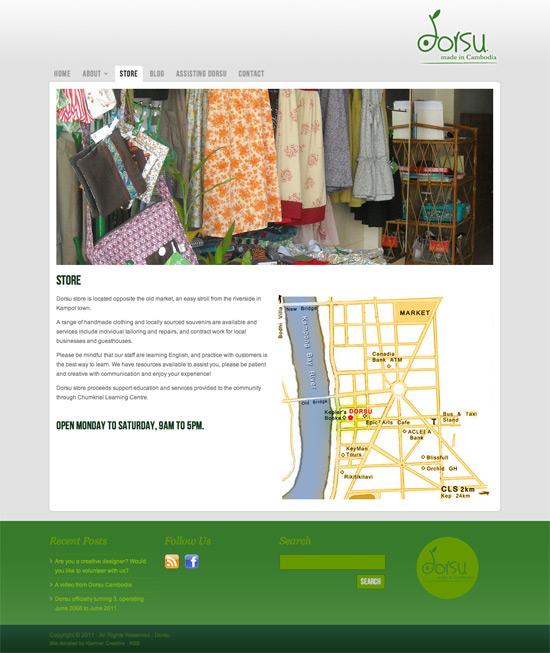 Dorsu Cambodia website