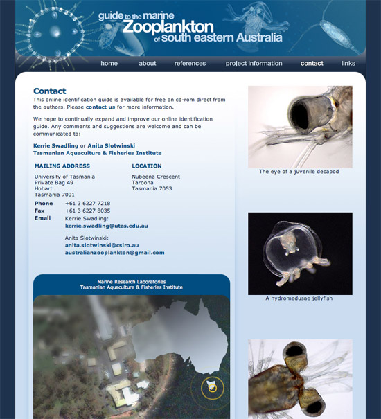 Guide to the Marine Zooplankton of South Eastern Australia